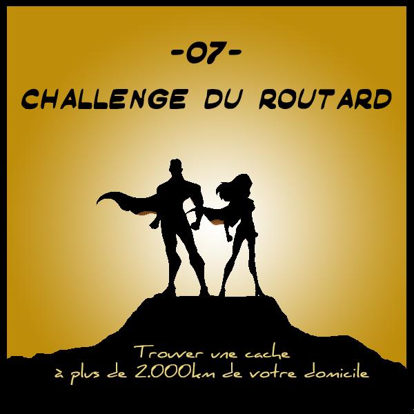 07 - Challenge du routard