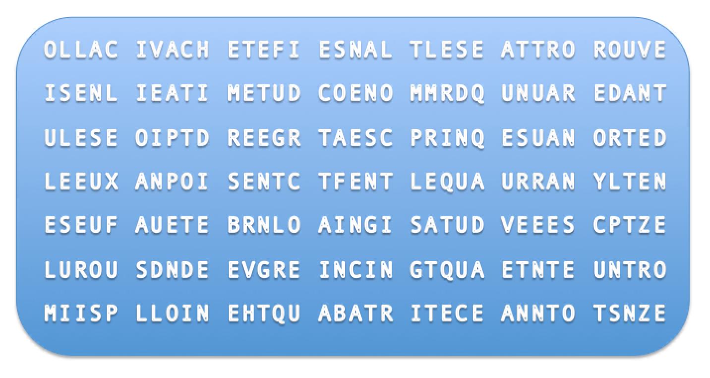 Alphabet Loirétain - O comme Olivet - Enigme