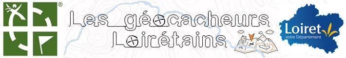 """Bandeau """"Les Géocacheurs du Loiret"""""""