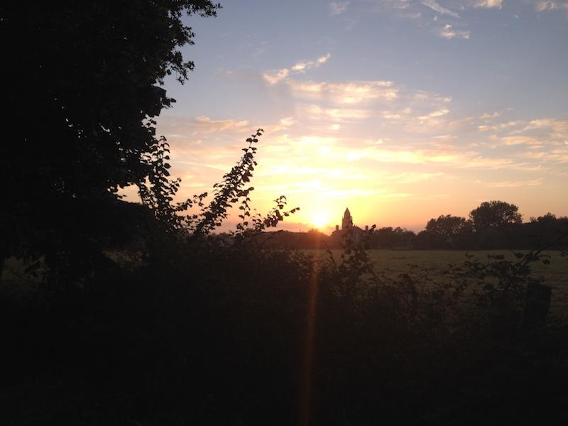 Lever de soleil Normand